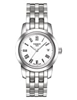 Tissot Classic Dream Analog White Dial Women's Watch T0332101101300
