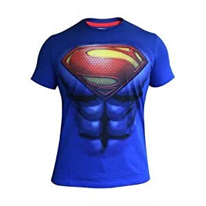 Free Authority Superman Round Neck T shirts