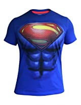 Royal Blue Superman T shirt for Men