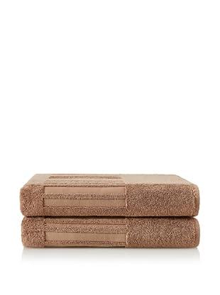 Garnier-Thiebaut Set of 2 Bath Sheets (Dune)