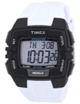 Timex Expedition Full Size Chrono Alarm Timer - White