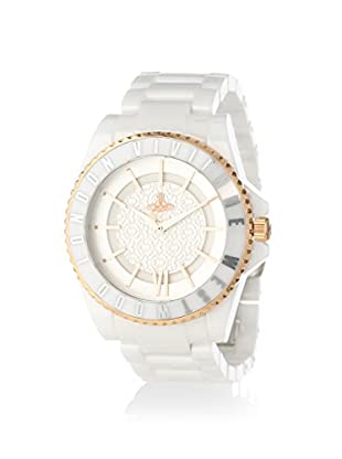 Vivienne Westwood Unisex VV048RSWH White/Silver Ceramic Watch