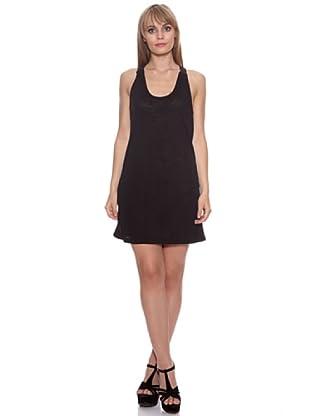 Santa Barbara Vestido Bicolor (Negro)