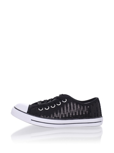 Pampili Kid's Sequined Sneakers (Black)