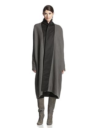 Rick Owens Women's Mountain Sail Coat (Dark/Black)