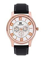 Iik Collection Analogue White Dial Men's Watch-Iik506M