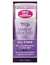 Andrea Eye Q's Makeup Remover Gel - Oil-free for Combination or Oily Skin, 3.75-Ounce (Pack of 3)