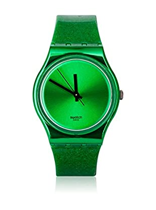 Swatch Quarzuhr Woman DEEP SHINE GREEN GG213 34.0 mm