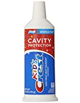 Crest Kid's Cavity Protection Neat Squeeze Sparkle Fun Flavor Toothpaste 6 Oz (Pack of 6)