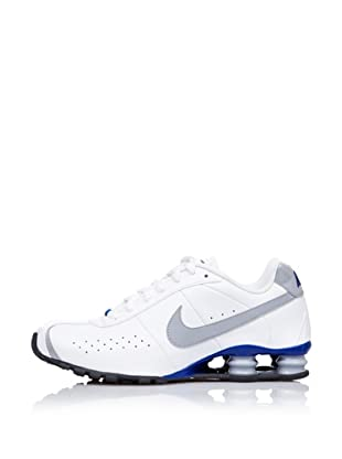 Nike Zapatillas Running Shox Classic (Blanco / Gris / Azul)