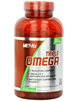MET-Rx Triple Omega 3-6-9 Diet Supplement Capsules, 240 Count