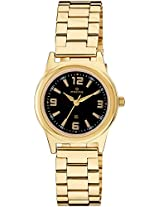 Maxima Analog Black Dial Women's Watch - 34801CMLY