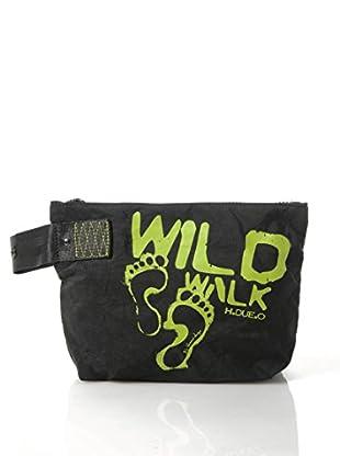 H.Due.O Necessaire Wild Walk Nero