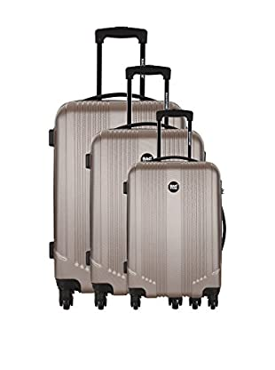 Bag Stone Set 3 Trolley Rigido Live