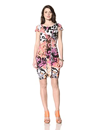 Hale Bob Women's Short Sleeve Dress (Multi Color)