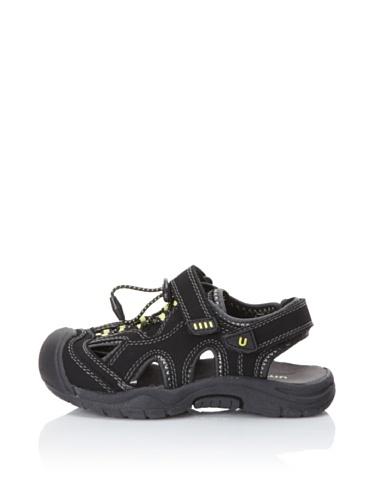umi Nile Active Sandal (Little Kid/Big Kid) (Black)