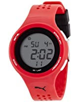 Puma Digital Grey Dial Unisex Watch - PU910931012