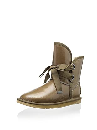 Australia Luxe Collective Women's Bedouin Short Patent Boot (Taupe Patent)