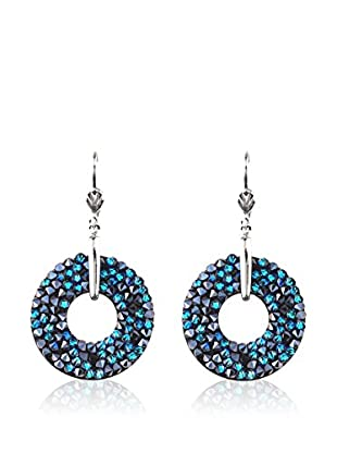 SWAROVSKI ELEMENTS Pendientes Rock Azul