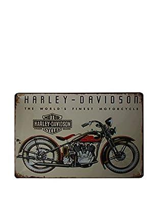 Lo+Demoda Wandbild Vintage Davidson Motorcycle