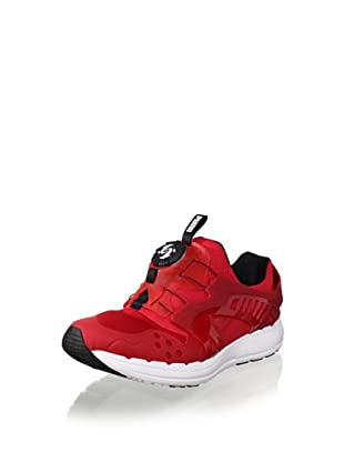 PUMA Future Disc Blaze Lite Fashion Sneaker (Ribbon Red/White)