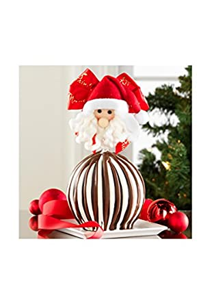 Mrs. Prindable's Jolly Santa Jumbo Chocolate Apple