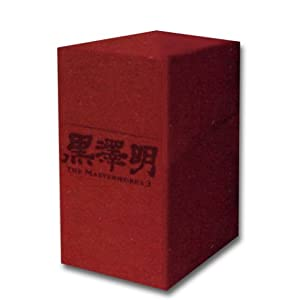 黒澤明 : THE MASTERWORKS 3 DVD BOXSET