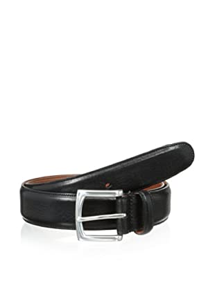 Bosca Men's The County Line Belt (Black)