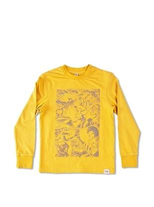 Carrera Jeans Camiseta Bambino M/L Girocollo (Amarillo)