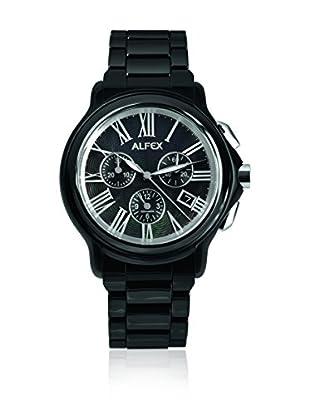 Alfex Uhr mit schweizer Quarzuhrwerk Man Alfex 43 mm