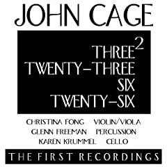 Cage: Three2, Twenty-Three, Six, Twenty-Six / Fong, Freeman, Krummel