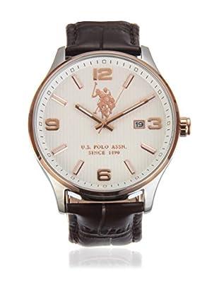 US Polo Association Uhr mit Miyota Uhrwerk Man Koral USP4333RG 44 mm