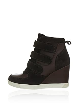 Buffalo Keil-Sneaker (Braun)