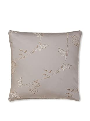Waterford Linens Silvie Decorative Pillow, Grey, 18