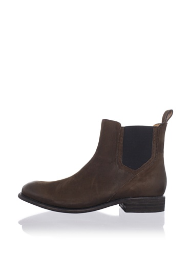 JD Fisk Men's Serge Pull-On Boot (Brown)