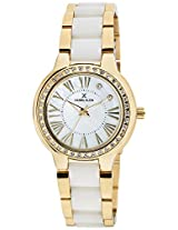 Daniel Klein Analog White Dial Women's Watch - DK10764-1