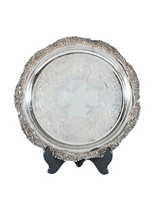 Argentina Silverplate Platter, Silver