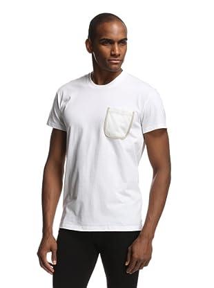 Dior Men's T-Shirt with Pocket (White)