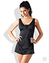 Skirted One Piece Swimsuit