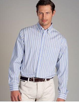 Hackett Camisa (Azul / Crudo)