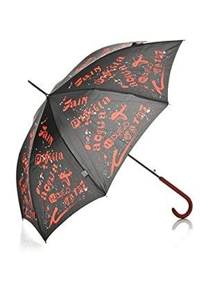 H.Due.O Ombrello Rain Nero