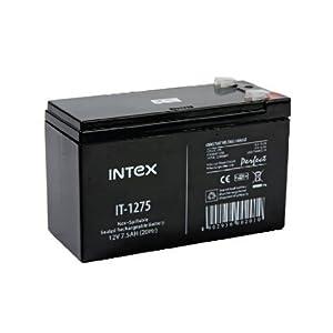 Intex 12V 7.5 AH Intex IT-1275 UPS Battery
