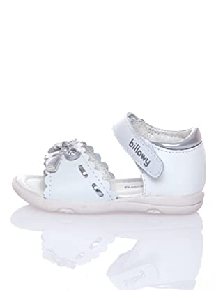 Billowy Sandalias Lazo (Blanco)