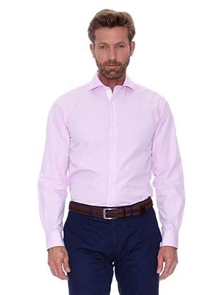 Cortefiel Camisa Liso (Rosa)