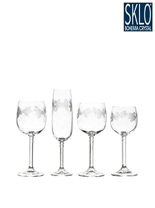 Cristal de Bohemia Cristalería 48 Piezas Brasil