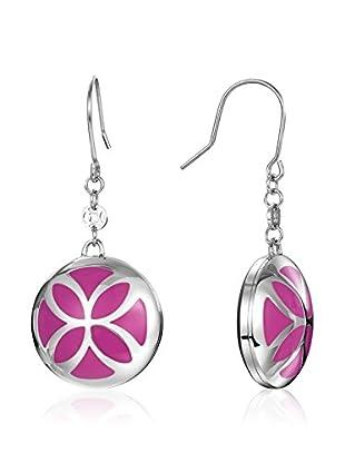 Esprit Pendientes Esprit Steel Thriving Flora Orchid Pink Rosa