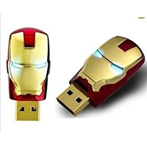 XElectron 4GB Irron Man USB Pen Drive (Red)