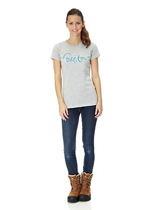 Burton Camiseta Zomina Po F (gris)
