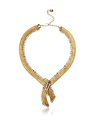 Lulu Frost 1920's Art Deco Cross-Over Necklace