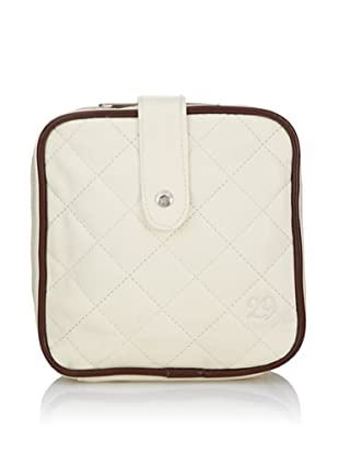 29 Cosmetics Quilted Cosmetics Bag, Winter White